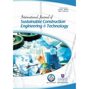 International Journal of Sustainable Construction Engineering and Technology (Volume 4 No. 1)