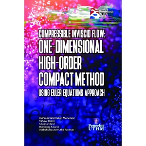 Compressible Inviscid Flow : One-Dimensional High-Order Compact Method Using Euler Equations Approach